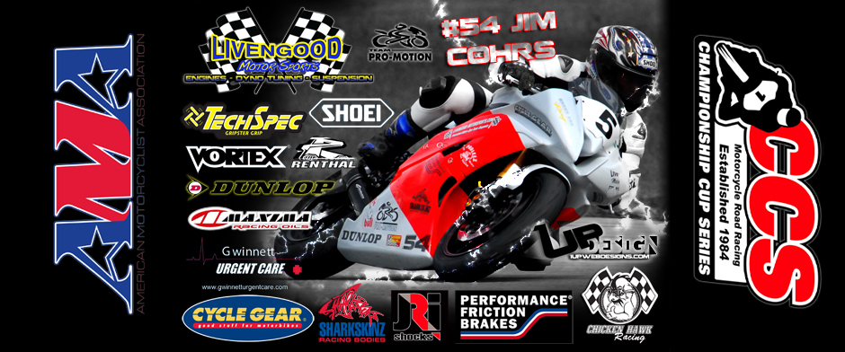 Jim Cohrs racing AMA and CCS
