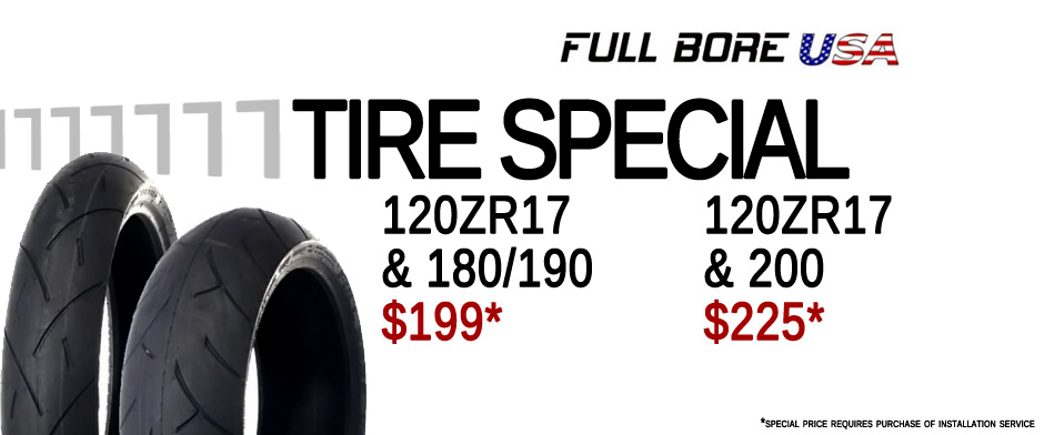 Full Bore Tire Special